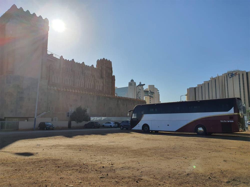 השכרת אוטובוס להשכרה בתל אביב