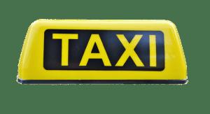 מונית גדולה באזור ראשית