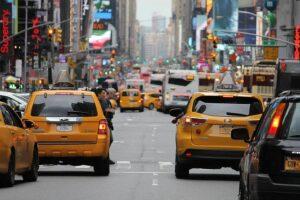 מונית גדולה בדרום ראשית